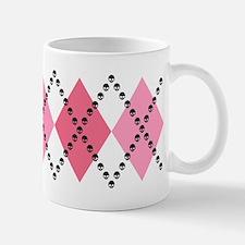 Pink Evil Argyle Mug