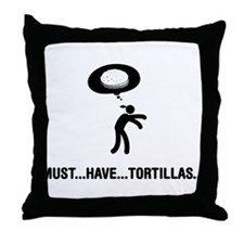 Tortilla Lover Throw Pillow