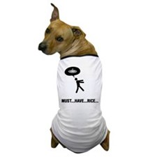 Rice Lover Dog T-Shirt