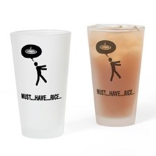 Rice Lover Drinking Glass