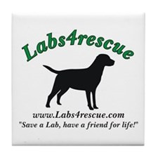 Labs4rescue Tile Coaster
