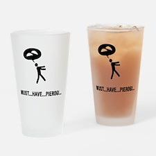 Pierogi Lover Drinking Glass