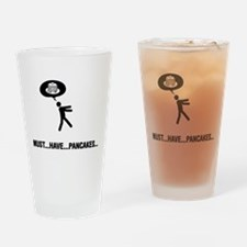 Pancake Lover Drinking Glass