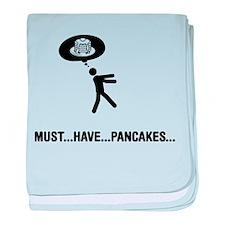Pancake Lover baby blanket