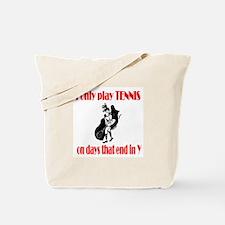 TennisChick Days Tote Bag