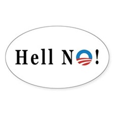 Hell No - Obama Decal