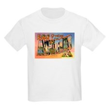 Los Angeles California Greetings Kids T-Shirt