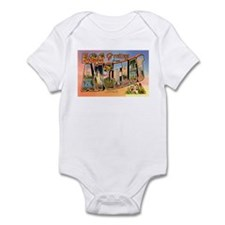 Los Angeles California Greetings Infant Bodysuit
