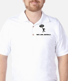 Meatball Lover Golf Shirt