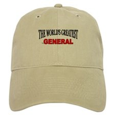 """The World's Greatest General"" Baseball Cap"