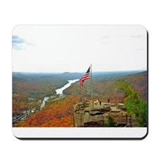 Overlooking Chimney Rock Mousepad