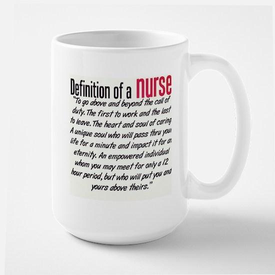 Definition of a Nurse Mug