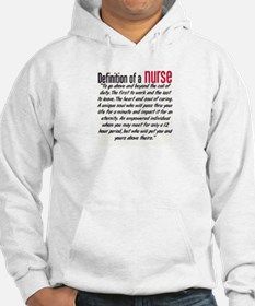 Definition of a Nurse Hoodie