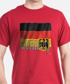 Silky Flag of Germany T-Shirt