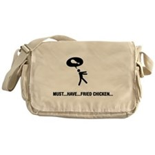 Fried Chicken Lover Messenger Bag