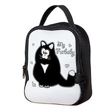 My Furbaby (txt) Neoprene Lunch Bag