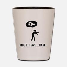 Ham Lover Shot Glass