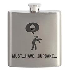 Cupcake Lover Flask