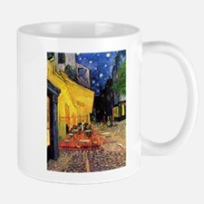 Cafe Terrace at Night by Vincent van Gogh Small Mugs