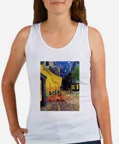 Cafe Terrace at Night by Vincent van Gogh Tank Top