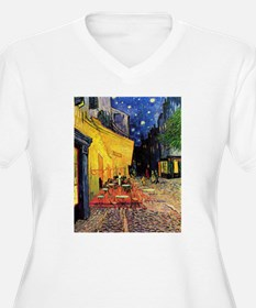 Cafe Terrace at Night by Vincent van Gogh Plus Siz