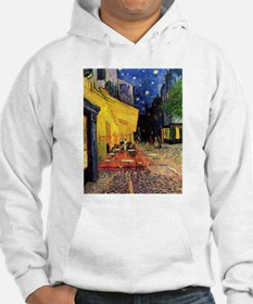 Cafe Terrace at Night by Vincent van Gogh Hoodie