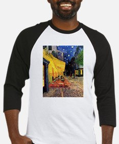Cafe Terrace at Night by Vincent van Gogh Baseball