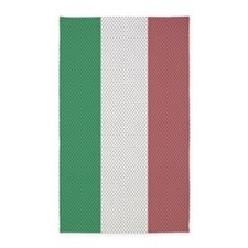 3 by 5 rug Italian Flag Jersey 3'x5' Area Rug