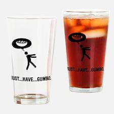 Gumbo Lover Drinking Glass