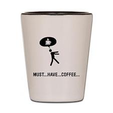 Coffee Lover Shot Glass
