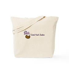 Junk Food Junkie Tote Bag