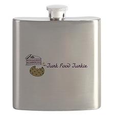 Junk Food Junkie Flask