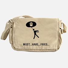 French Fries Lover Messenger Bag