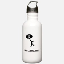 French Fries Lover Water Bottle