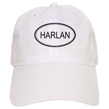 Harlan Oval Design Baseball Cap