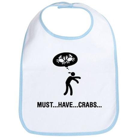 Crab Lover Bib