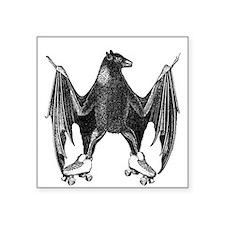 Derby Bat Black Sticker