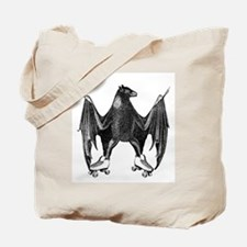 Derby Bat Black Tote Bag
