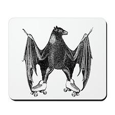Derby Bat Black Mousepad