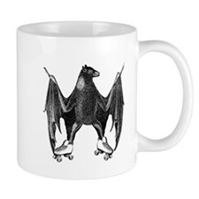 Derby Bat Black Mug
