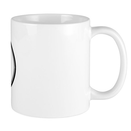 Hank Oval Design Mug