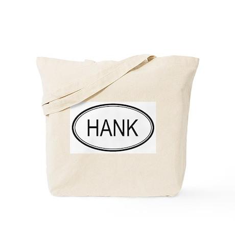 Hank Oval Design Tote Bag