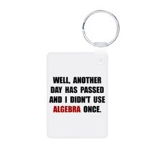 Algebra Once Keychains