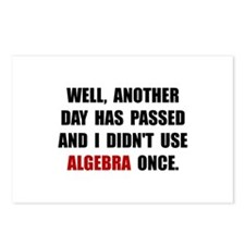 Algebra Once Postcards (Package of 8)