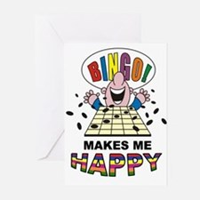 BINGO Greeting Cards (Pk of 10)