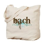 Bach Composer Tote Bag