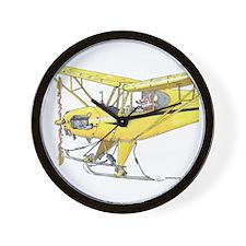 Cool Cub Ski Plane Wall Clock