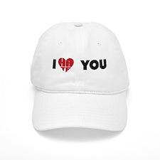 "I ""love"" you Baseball Cap"