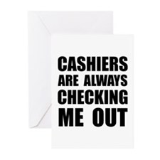 Cashiers Greeting Cards (Pk of 20)