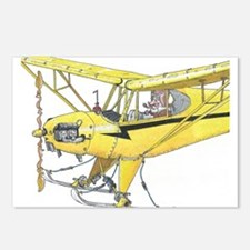 Cool Cub Ski Plane Postcards (Package of 8)